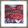 Red Fish Framed Print