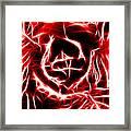 Red Lettuce Framed Print