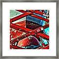 Red Lift Framed Print