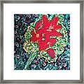 Red Lilies Framed Print