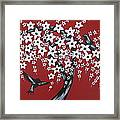 Red Romance Framed Print