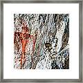 Red Warrior Framed Print