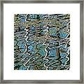 Reflections From The Ponte Vecchio Framed Print