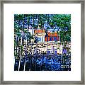 Reflections In The City Framed Print