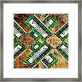 Refresh My Memory - Computer Memory Cards - Electronics - Abstract Framed Print