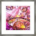 Released Happiness Framed Print