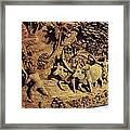Relief Art Framed Print