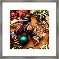 Remembering Cgristmases Past As You Trim This Years Tree. Framed Print