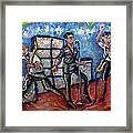 Revolution Rock The Clash Framed Print by Jason Gluskin