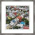 Reykjavik Framed Print