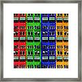 Rgby - Downtown Apartments Framed Print