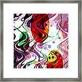 Rhythem Of Change II Framed Print