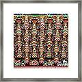 Richly Decorated Temple Ceiling Framed Print