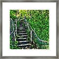 Rickety Stairs Framed Print