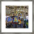 Ride A Painted Pony - Coney Island 2013 - Brooklyn - New York Framed Print