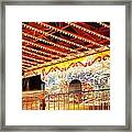 Rides At The Evergreen State Fair Framed Print