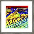 Ridin The Rails Framed Print