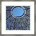Ring Of Sky Framed Print