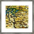 Ripples In Time Framed Print by Artist and Photographer Laura Wrede