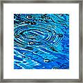 Ripples Of A Bubble Bursting Framed Print