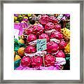 Ritaya Fruit - Mercade Municipal  Framed Print