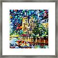 River In Paris Framed Print