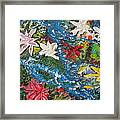 River Of Flowers  Framed Print by Max Lines