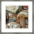 River Rocks 11 Framed Print