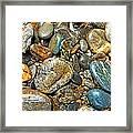 River Rocks 14 Framed Print
