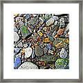 River Rocks 22 Framed Print