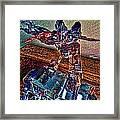 Robo Man Framed Print