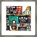 Rock And Roll On St. Marks   Nyc Framed Print