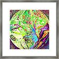 Rock 'n Roll In Crazy-gushing Colours Framed Print