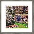Rock Quarry Garden Framed Print