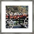 Rock Wagon Framed Print