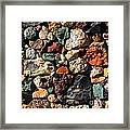 Rock Wall Framed Print