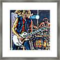 Rockin Guitarist Framed Print