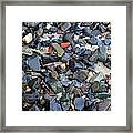 Rocks And Stones Framed Print