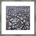 Rocky Beach Normandy France Framed Print