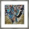Rodeo Indian Dance Framed Print