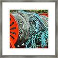 Rolled-up Nets Framed Print