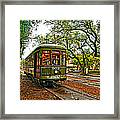 Rollin' Thru New Orleans Painted Framed Print