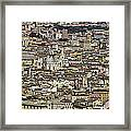 Rome Panorama Framed Print