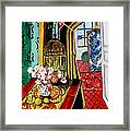 Room With A View After Matisse Framed Print