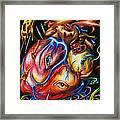 Rotting Heart Framed Print