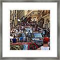 Rua 25 De Marco - Sao Paulo Framed Print