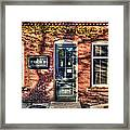 Rubi's Coffee And Sandwiches - Great Barrington Framed Print