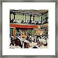 Ruby Foo Den Chinese Restaurant In New York City Framed Print