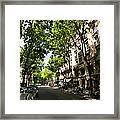 Rue Caulaincourt Montmartre Framed Print