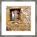 Ruined Wall Framed Print